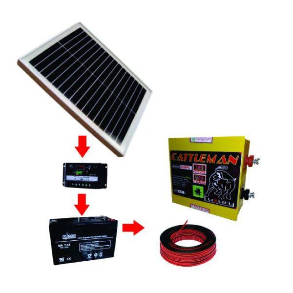 Impulsor Solar 80 km - Kit